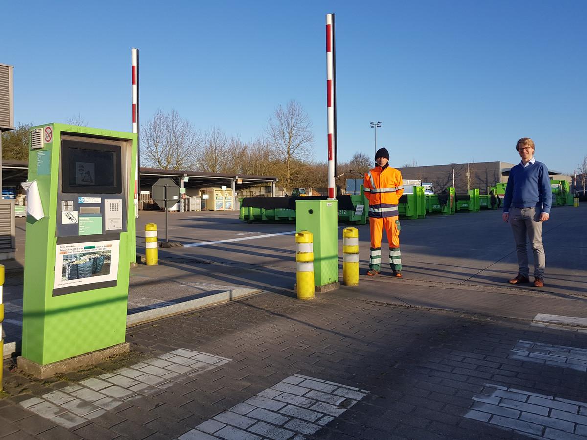 Het recyclagepark van Wingene