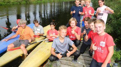 Survivalkamp doet jongeren tablet vergeten