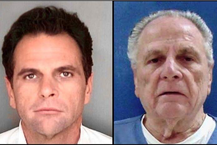 Richard DeLisi als veertiger ten tijde van zijn veroordeling in 1989. De zeventiger (foto rechts) komt normaal volgende maand vrij.
