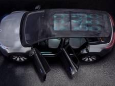 Fisker toont elektrische SUV met zonnepanelen op dak die rond 2022 uitkomt