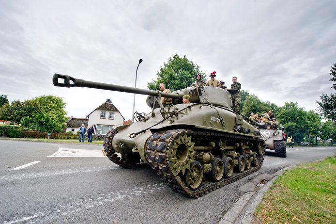 Keep Them Rolling komt in 2020 vier dagen lang naar Etten met militaire voertuigen uit de Tweede Wereldoorlog, waaronder twee tanks.