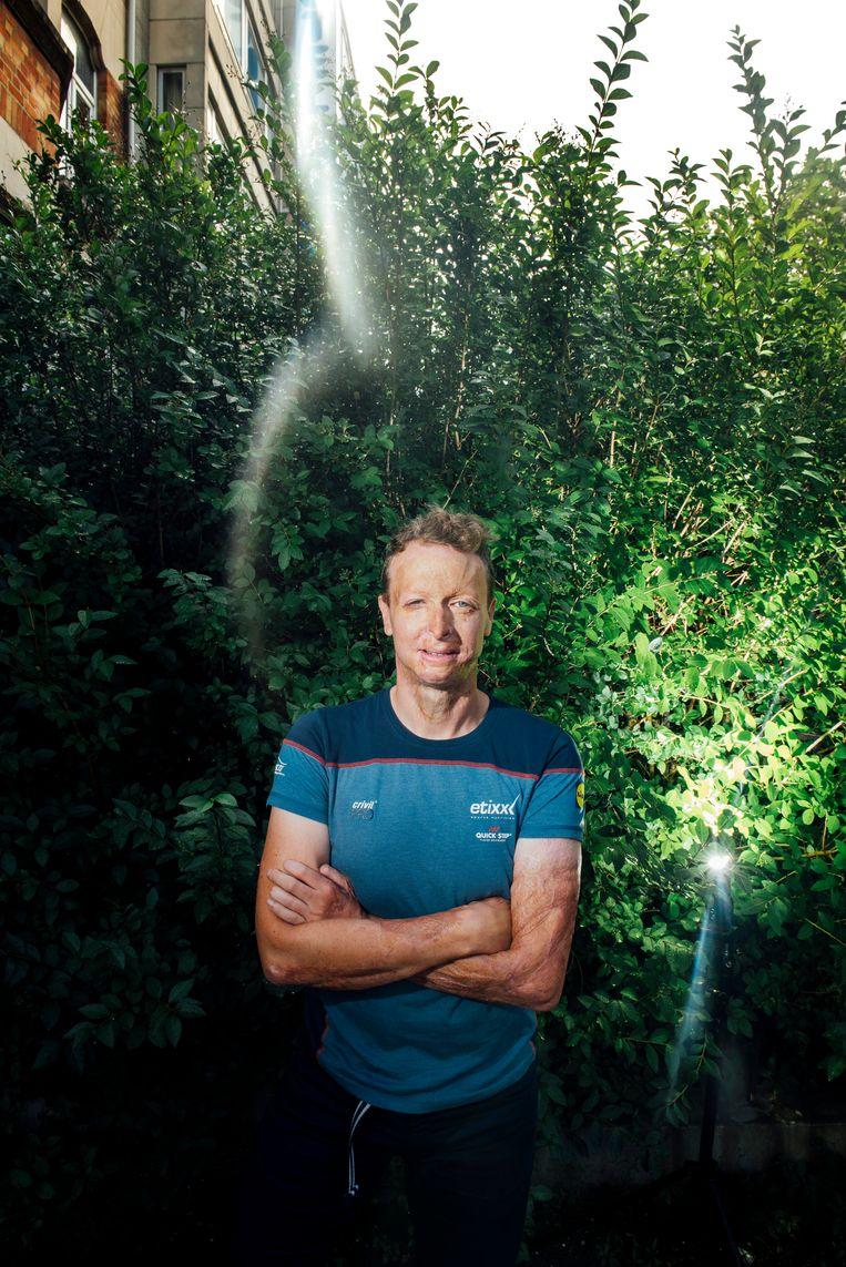 Paralympiër Diederick Schelfhout. Beeld Stefaan Temmerman