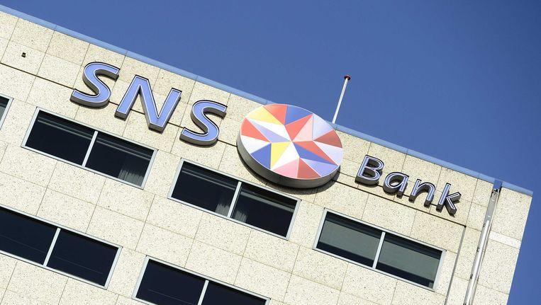 Het kantoor van de SNS Bank in Amsterdam. Beeld ANP XTRA
