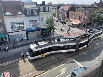 Tram ontspoord in Merksem: hinder voor lijn 2 en 4