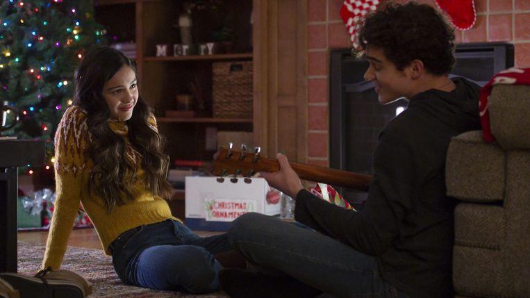 Olivia Rodrigo en Joshua Bassett in 'High School Musical: The Musical - The Series' Beeld Disney