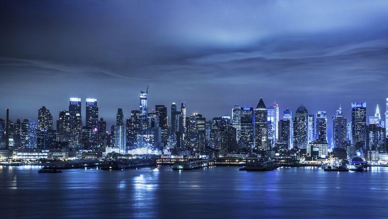 New York City by night. Beeld THINKSTOCK