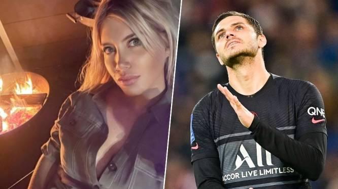 """""""Een nieuw gezin dat je hebt kapotgemaakt"""": huwelijk tussen PSG-spits Icardi en spelersmakelaar Nara eindigt zuur"""