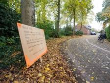 De spiegel aan de Bleekweg in Nijverdal is opnieuw vernield