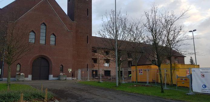 Afbraak klooster Termien is enkele dag geleden begonnen.