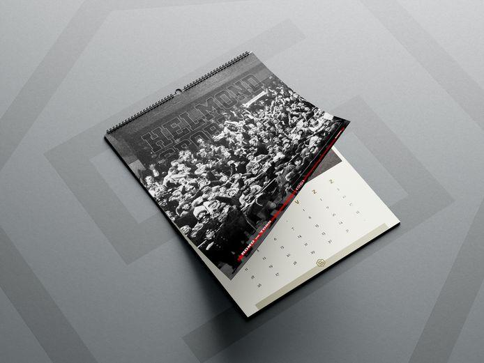 De supporters van Helmond Sport hebben een nostalgische kalender gemaakt, de opbrengst komt ten goede aan de club.
