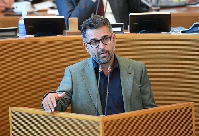 Christophe Clersy (Ecolo) au Parlement Wallon