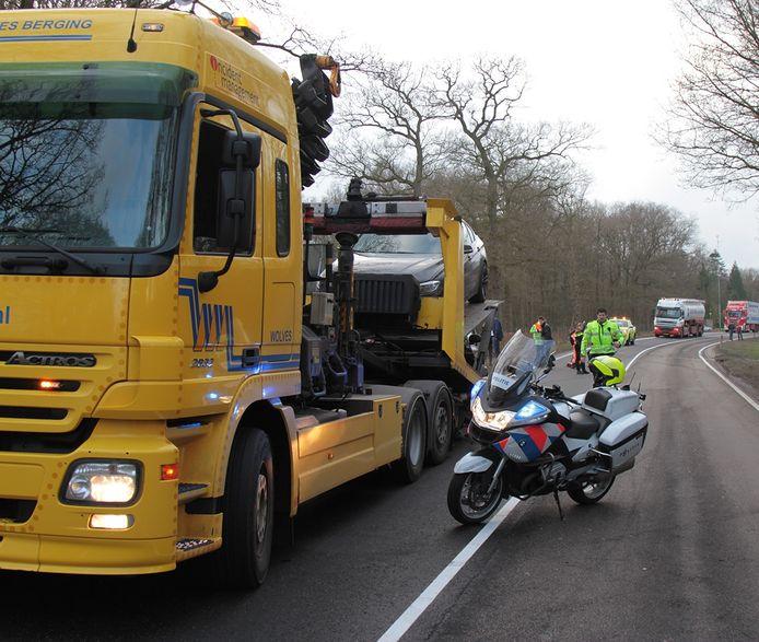 Ongeval N35 bij Wijthem. Foto:GinoPress