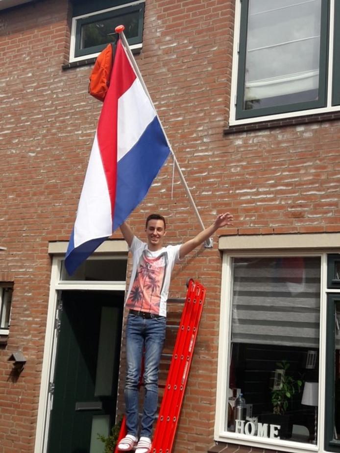 Martijn Muizer uit Zevenhuizen is geslaagd.