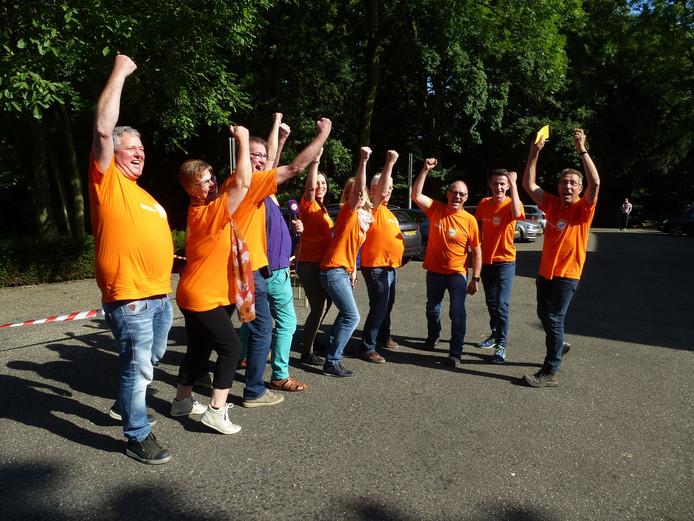 Team Rossum gaat aan de slag met de opdracht van Omroep Gelderland.