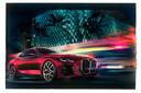 'Dat is een eng kostuum' schreef Mercedes-Benz onder een foto van de BMW 4 Serie concept