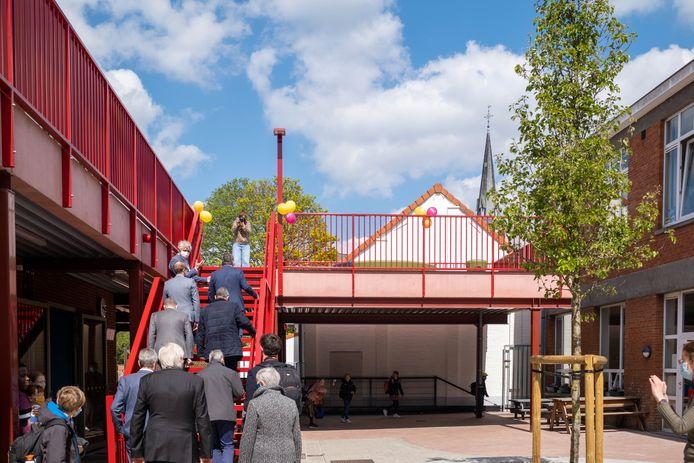 Officiële inhuldiging van de nieuwe schoolgebouwen van de Krinkel door minister Ben Weyts