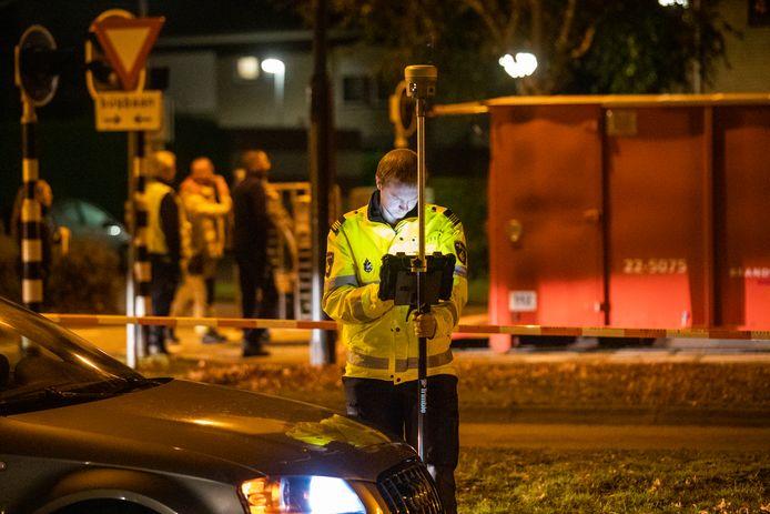 Politie doet onderzoek bij schietpartij Veldhoven