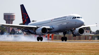 Toestel Brussels Airlines moet rechtsomkeer maken na vogel in motor