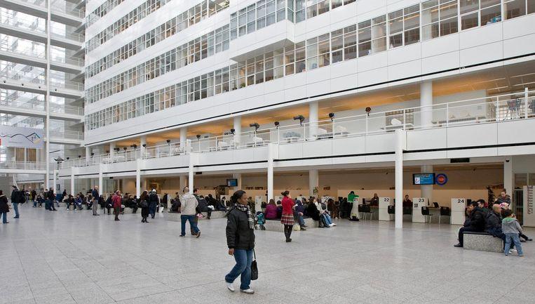 De hal van het stadhuis in Den Haag Beeld anp