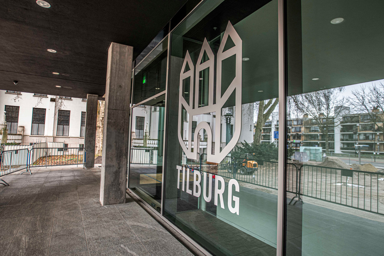 Het gemeentehuis in Tilburg.