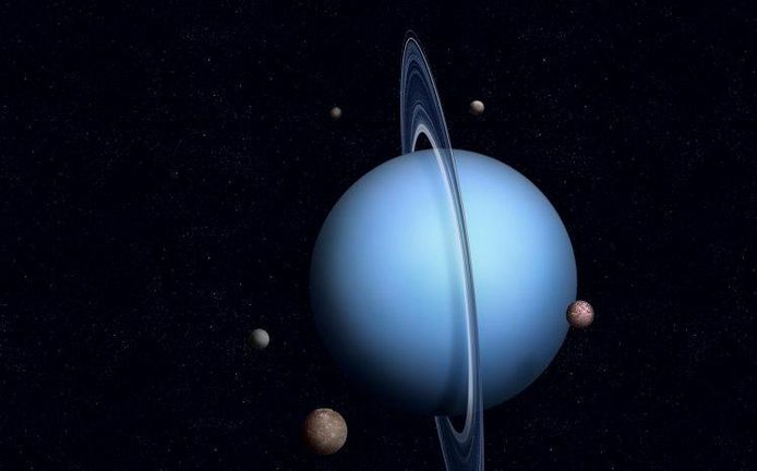 Op Uranus kan je zoiets als een 'diamantenregen' meemaken.