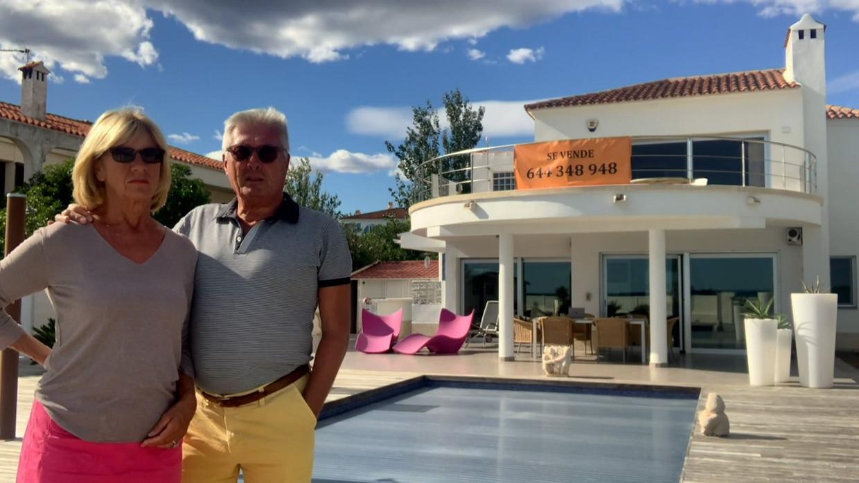 Magda en Dirk hadden 800.000 veil voor een villa in Portugal. Beeld SBS BE