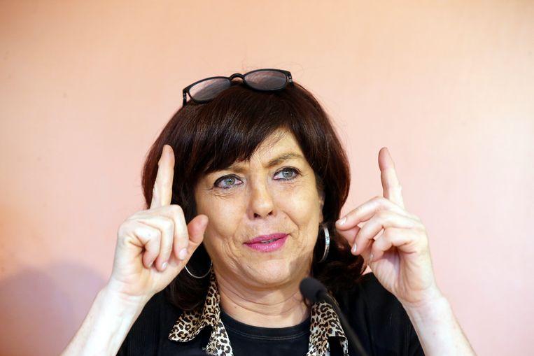 Joelle Milquet (cdH). Beeld BELGA