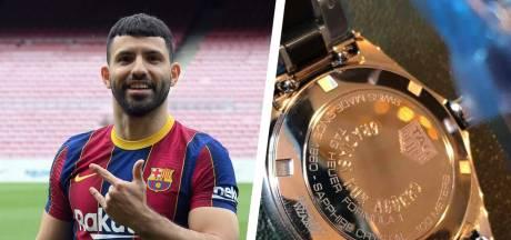 Sergio Agüero bedankt stafleden Manchester City met exclusieve horloges én Range Rover