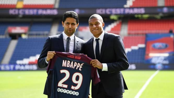 "PSG-voorzitter Al-Khelaïfi rolt de spierballen: ""Wij zullen Mbappé nooit laten gaan"""
