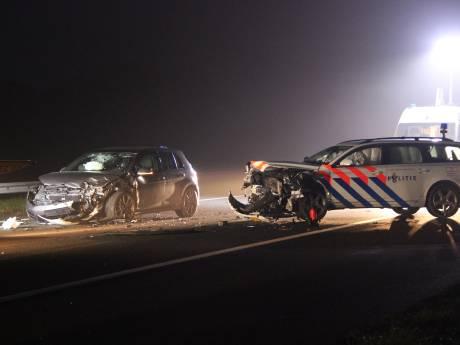 OM eist 5 jaar cel voor ramkraak Delden en inrijden op politieauto op A1