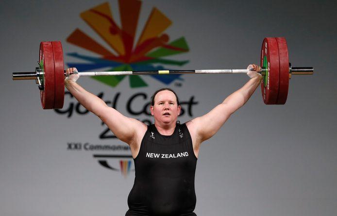 De Nieuw-Zeelandse transgender atleet Laurel Hubbard.
