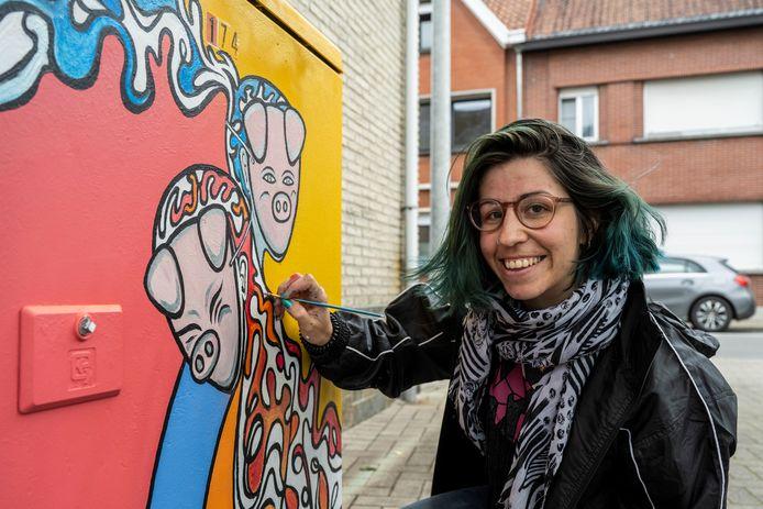 Sarina Mannaert is één van de deelnemers aan Viewmasters  2021.