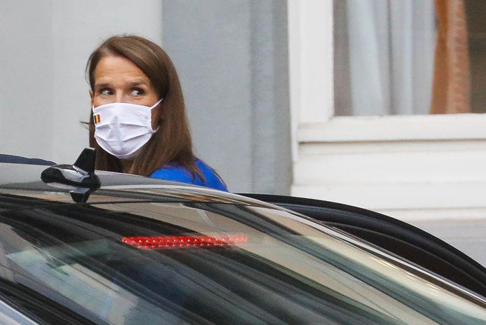"""Il y a un mois, la Première ministre, Sophie Wilmès, a expliqué qu'il faudrait désormais passer de la """"gestion de crise"""" à la """"gestion des risques""""."""