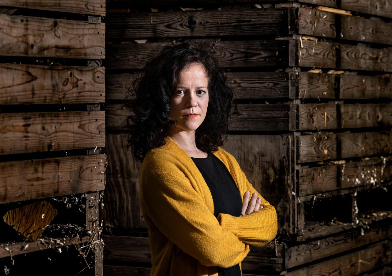 Marjolein Teepen schreef de voorstelling 'Lifvik', te zien bij natuurpoort De Peel in Deurne.