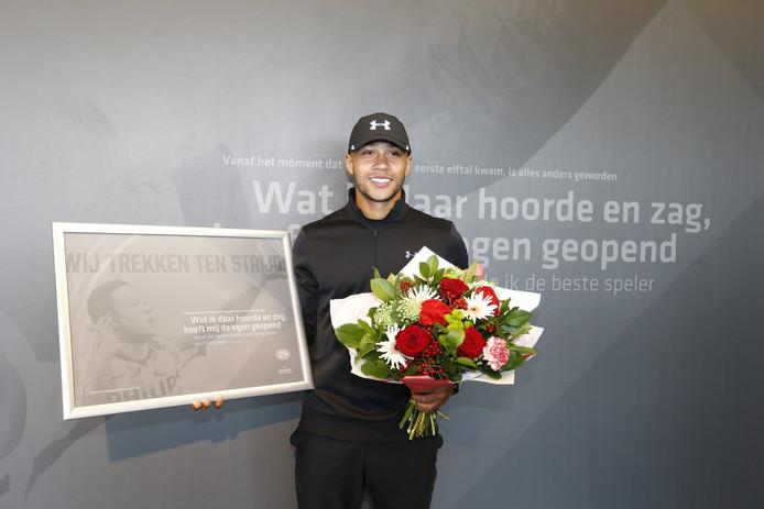 Memphis Depay ging in 2015 weg bij PSV. Van de transfersom van 34 miljoen euro hield PSV minder over dan gedacht.