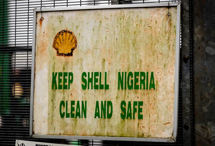 Olie en gas verwerkingsstation Agbada 2 van Shell in Nigeria.