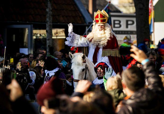 Sinterklaas in Zaanstad.