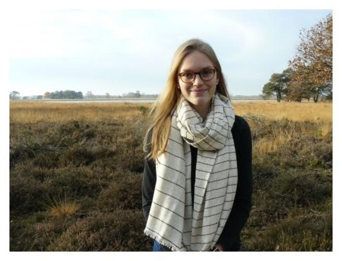 Belle Holthuis is de nieuwe jeugdbestuurder van waterschap Aa en Maas.