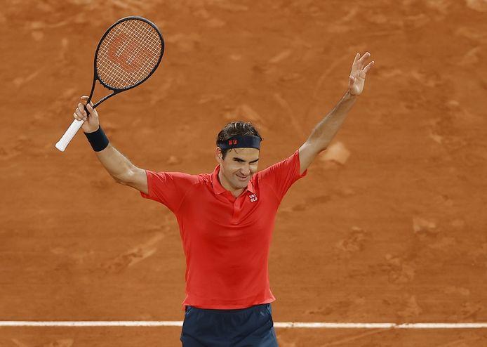 Roger Federer quitte Paris sur une victoire.