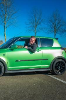 Met knalgroene Suzuki Swift kan Wouter (21) nooit undercoveragent zijn: 'Het lijkt wel een gifkikker'