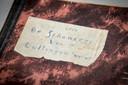 Het oude dagboek van Tony Jochem sr. dat bewaard is gebleven.