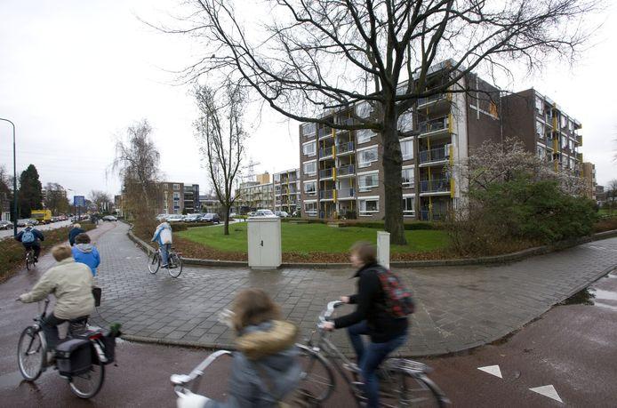 De Freule Lauta van Aysmaflat in de Kerkewijk in Veenendaal die door de in opspraak geraakte stichting is gebouwd.