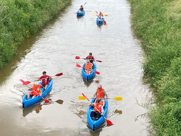 Vaarverbod op bevaarbare waterlopen op het grondgebied van Dies.t.