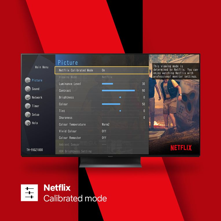 Panasonic en Netflix proberen twee handen op één buik te zijn.