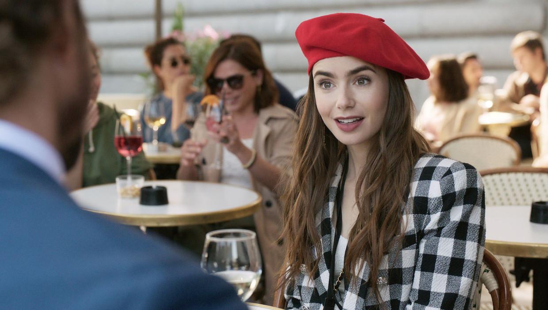 'Emily in Paris' Beeld Netflix