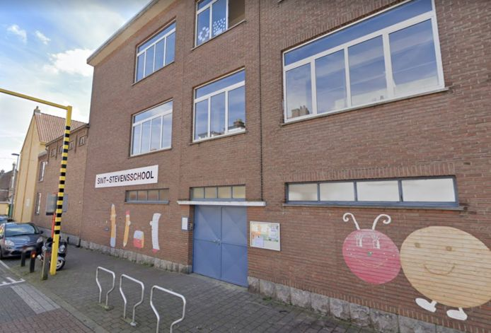 De Sint-Stevensschool in Sint-Pieters-Leeuw.