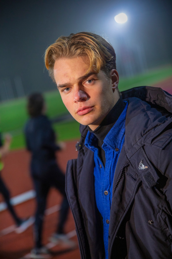 """Jippe Lasschuijt: atleet en model. ,,Het is voor mij een manier om mijn leven te betalen."""""""