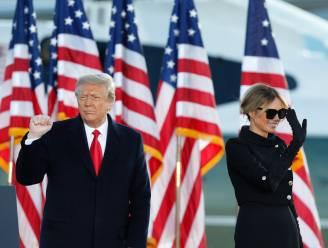 """Trump wenst nieuwe regering geluk toe tijdens afscheidsspeech: """"Ze hebben de basis om iets spectaculair te doen"""""""