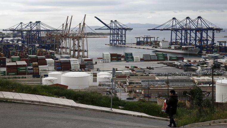 De haven van Piraeus. Beeld REUTERS
