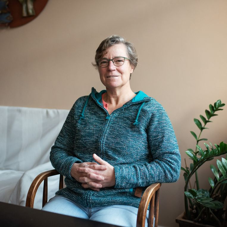 Mieke Soelman is zelfstandig kok en brengt nu haar cv weer op orde. Beeld Sabine van Wechem